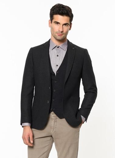Beymen Business Yün Blazer Ceket Lacivert